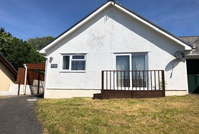 Thumbnail Bungalow for sale in Dol-Y-Fran, Valley Road, Saundersfoot, Pembrokeshire