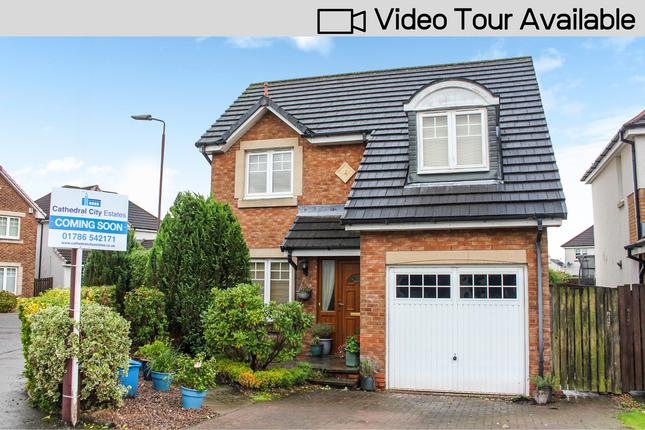Thumbnail Detached house for sale in Alder Crescent, Menstrie