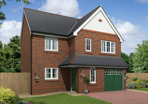 Thumbnail Detached house for sale in The Alston, Off Boundary Park, Neston, Cheshire