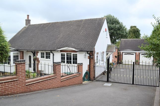 Thumbnail Detached bungalow for sale in Newhall Road, Swadlincote