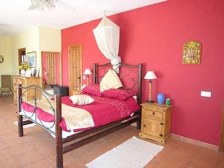 Bedroom 1 of Spain, Málaga, Sedella