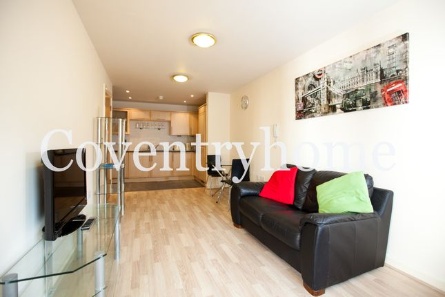 Thumbnail Flat to rent in Fairfax Street, Coventry