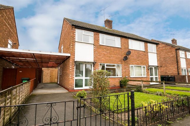 Thumbnail Semi-detached house for sale in Chestnut Close, Hoole, Chester