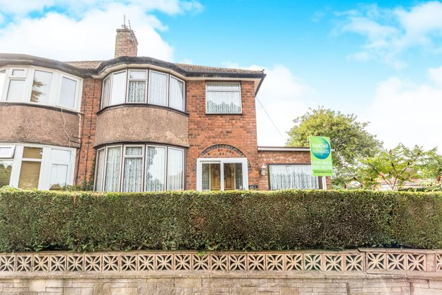 Thumbnail Semi-detached house for sale in Coventry Road, Sheldon, Birmingham