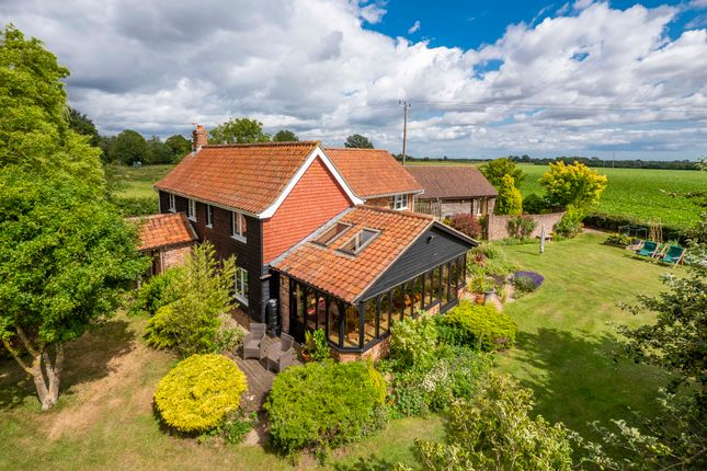 Thumbnail Detached house for sale in Long Green, Wortham, Suffolk