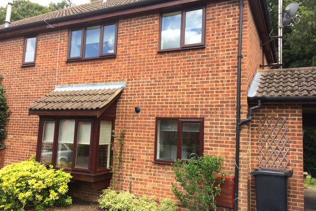 Thumbnail Terraced house to rent in Langtons Meadow, Farnham Common