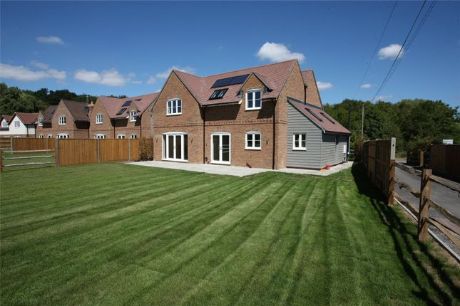 Thumbnail Detached house for sale in Fincham View, Rye Common, Odiham, Hampshire