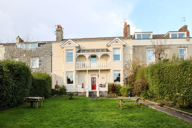Thumbnail Town house for sale in Somerset Place, Stoke, Plymouth