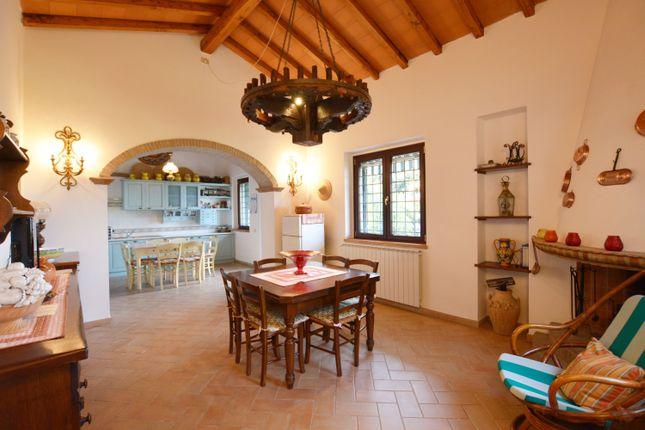 Dining Area of Villetta Clara, Massarosa, Lucca, Tuscany, Italy