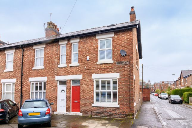 Thumbnail End terrace house for sale in Hardy Avenue, Chorlton, Manchester