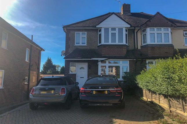 Thumbnail Semi-detached house to rent in Orchard Way, Aldershot