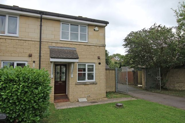 Thumbnail End terrace house to rent in Poplar Road, Odd Down, Bath