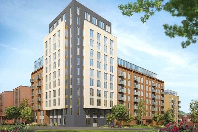 Thumbnail Flat for sale in Franklin Court, Shenley Road, Borehamwood, Hertfordshire