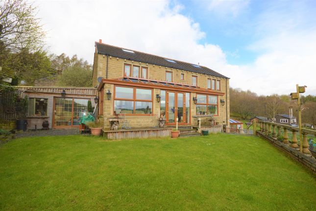 Thumbnail Detached house for sale in Radcliffe Road, Golcar, Huddersfield