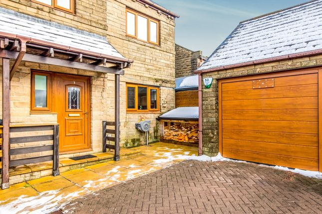 Thumbnail Semi-detached house for sale in Dene Royd Court, Stainland, Halifax