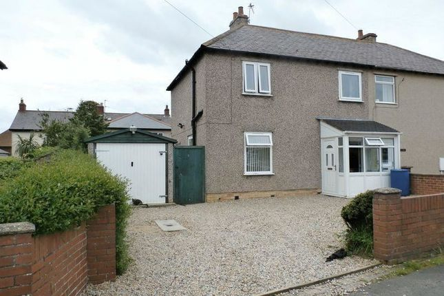 Thumbnail Semi-detached house for sale in Central Avenue, Amble, Morpeth