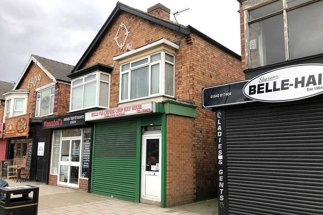 Thumbnail Retail premises for sale in 450 Marton Road, Middlesbrough TS4, Middlesbrough,