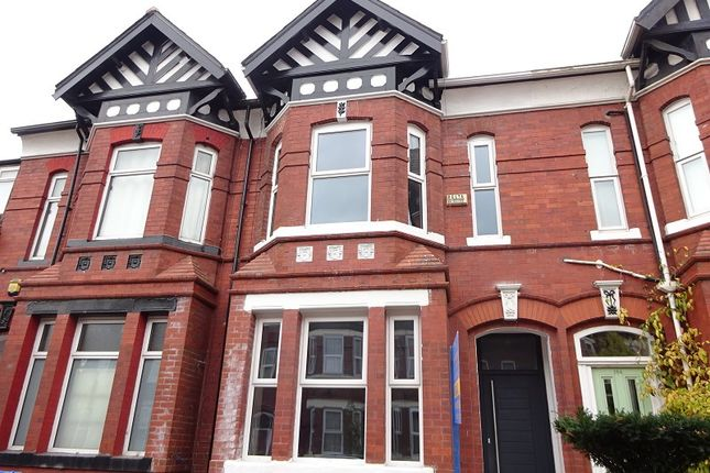 Thumbnail Terraced house for sale in Stamford Street, Old Trafford, Manchester.