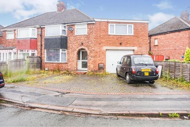Thumbnail Semi-detached house for sale in Banbury Drive, Warrington