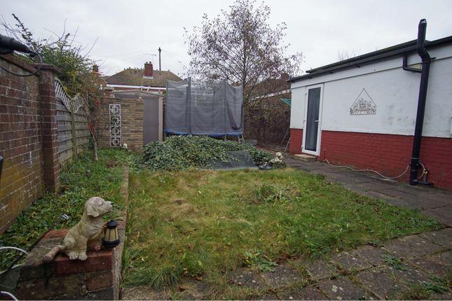 Rear Garden of Valley Road, Brighton BN41