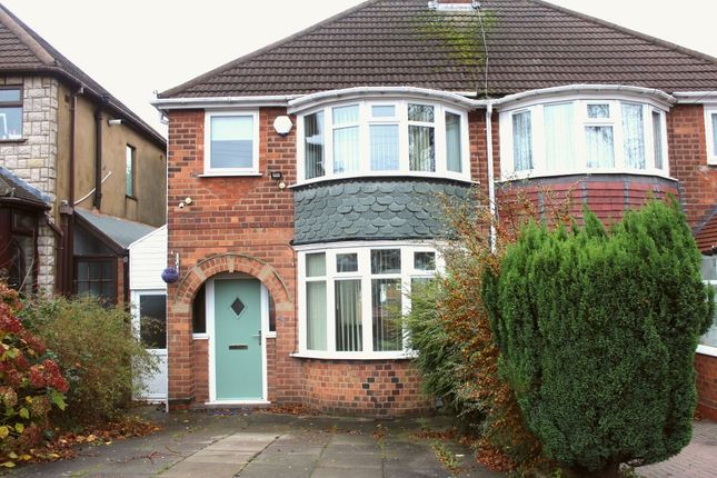 Thumbnail Semi-detached house for sale in Bryn Arden Road, Birmingham