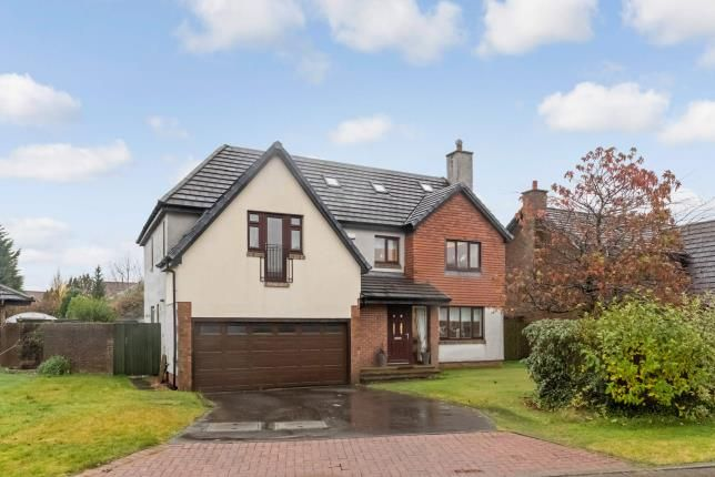 Thumbnail Detached house for sale in Troon Gardens, Westerwood, Cumbernauld, North Lanarkshire