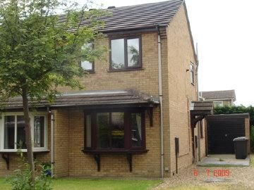 Thumbnail Semi-detached house to rent in Roxholm Close, Ruskington