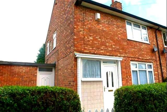 Thumbnail Semi-detached house to rent in Parthian Road, Hull