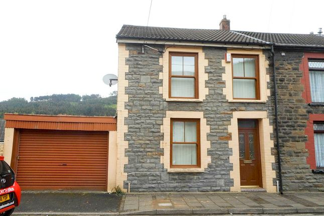 Thumbnail End terrace house for sale in Castle Street, Cwmparc