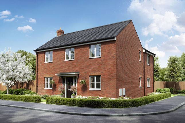 "Thumbnail Detached house for sale in ""The Knightley"" at Badgers Chase, Retford"