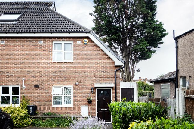 Thumbnail End terrace house for sale in Wishaw Walk, London