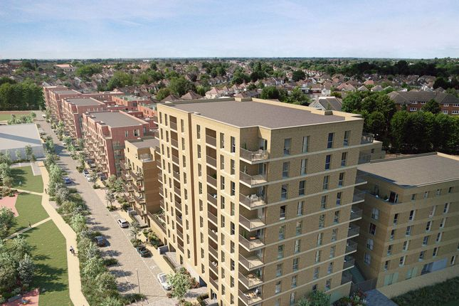 3 bed flat for sale in Meadowview Close, Harrow HA1