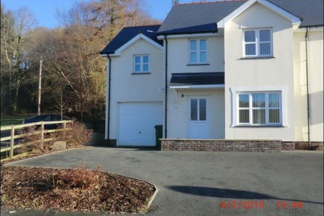 Thumbnail Semi-detached house to rent in Heol Y Fedwen, Ciliau Aeron, Lampeter