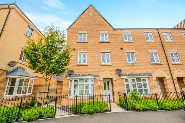 Thumbnail End terrace house for sale in Brunel Court, Radyr, Cardiff