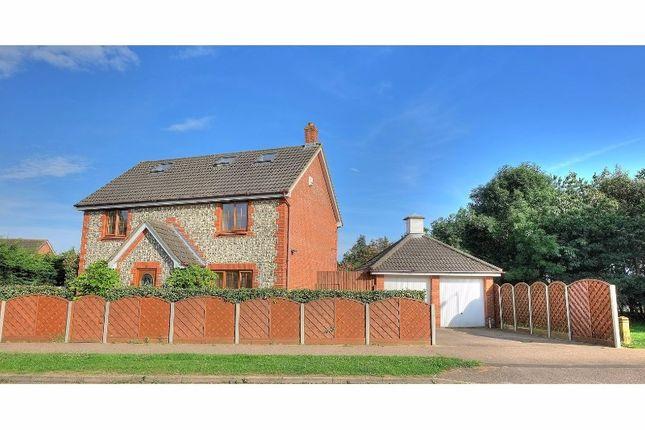 Thumbnail Detached house for sale in Longdale, Drayton, Norwich