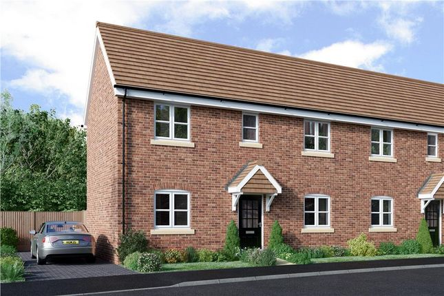 """2 bedroom semi-detached house for sale in """"Morley"""" at Hollybush Lane, Burghfield Common, Reading"""