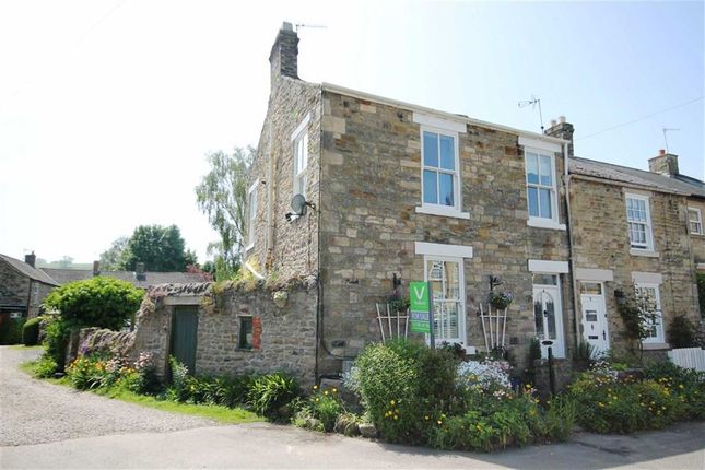 Thumbnail End terrace house for sale in East End, Wolsingham, Co Durham
