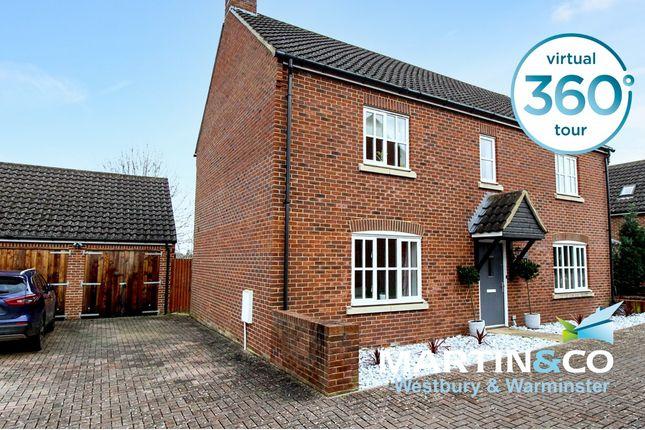 Thumbnail Detached house for sale in Shepherds Drove, West Ashton, Trowbridge
