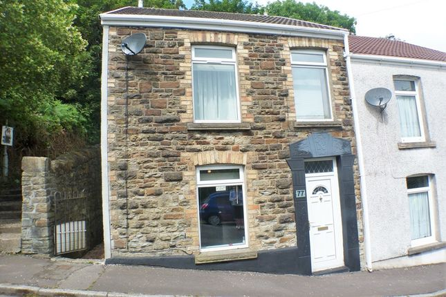 Thumbnail End terrace house to rent in Graig Road, Morriston