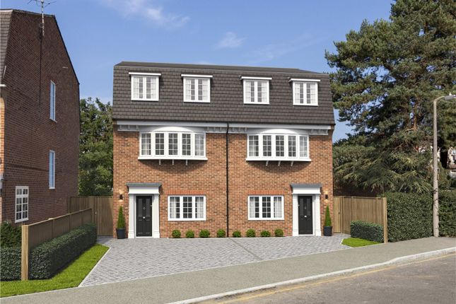 Thumbnail Semi-detached house for sale in Lower Park Road, Loughton, Essex