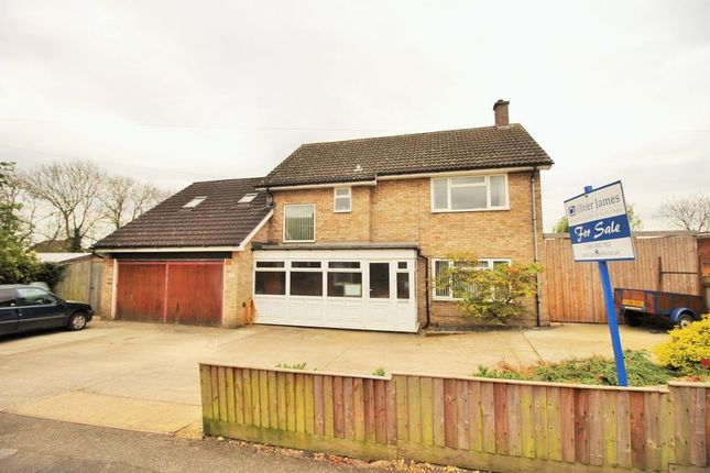 Thumbnail Property for sale in Coneygear Road, Hartford, Huntingdon, Cambridgeshire.