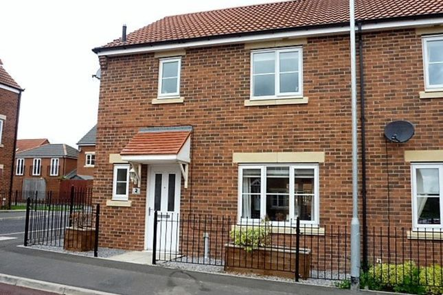 Thumbnail End terrace house for sale in Lambley Crescent, Seaton Delaval, Whitley Bay
