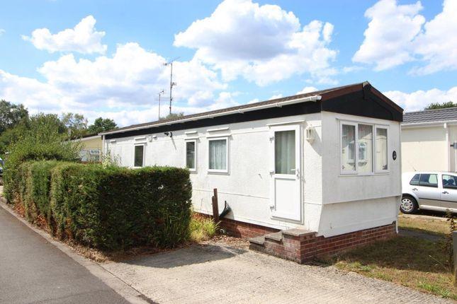 Thumbnail Mobile/park home for sale in Mytchett Farm Park, Mytchett