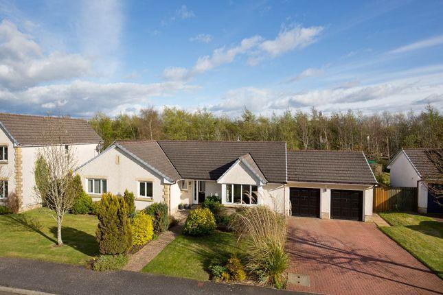 Thumbnail Detached bungalow for sale in Robinsland Drive, West Linton