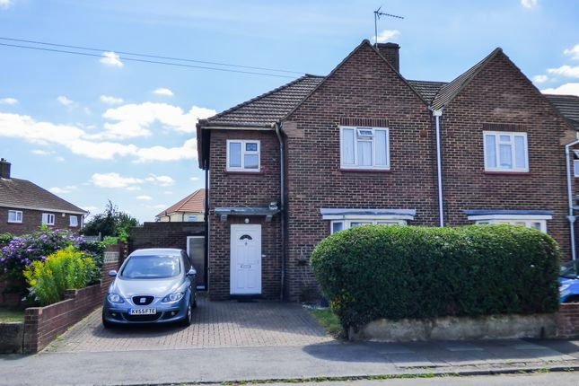 Thumbnail Semi-detached house for sale in Christianfields Avenue, Gravesend, Kent