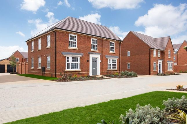 "Thumbnail Detached house for sale in ""Eden"" at Carters Lane, Kiln Farm, Milton Keynes"