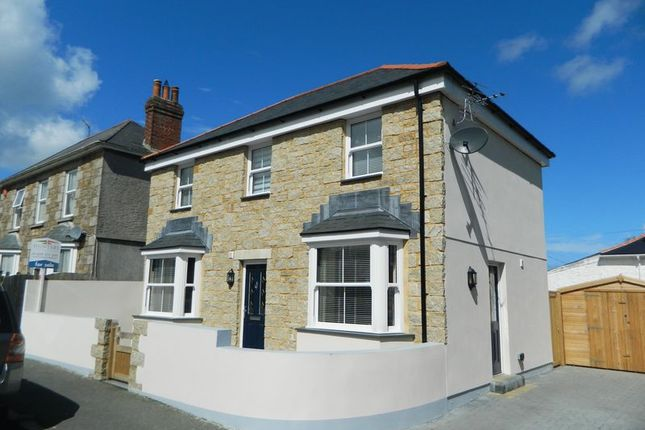 Thumbnail Detached house for sale in Gustavus Road, Camborne