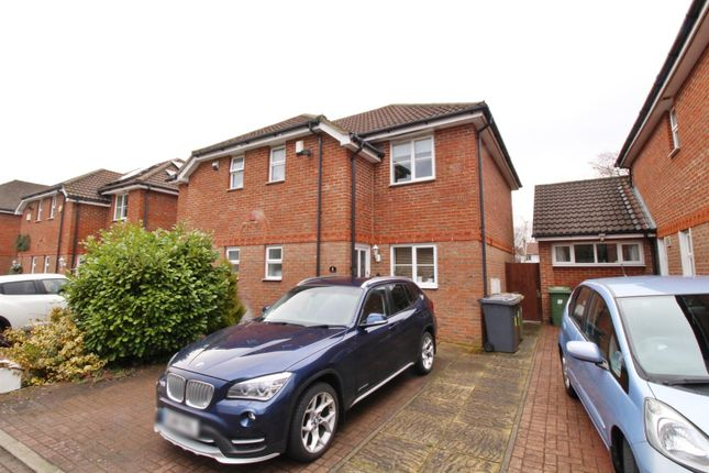 Thumbnail Semi-detached house to rent in Beechfield Close, Borehamwood