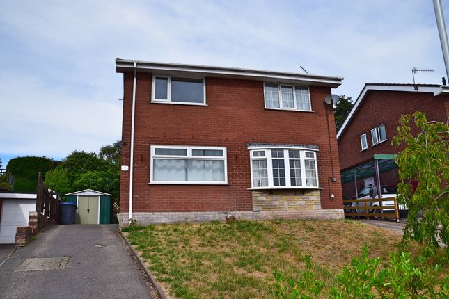 Thumbnail Semi-detached house to rent in Rennie Crescent, Cheddleton, Leek