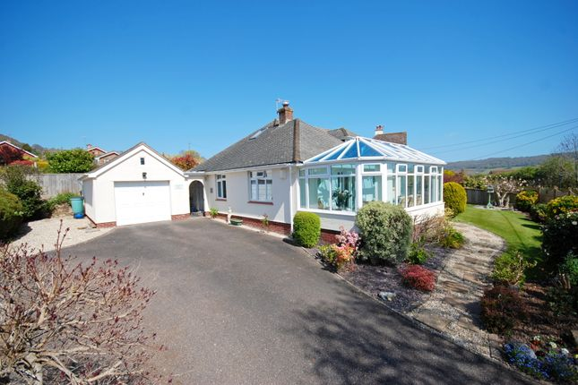 Thumbnail Detached bungalow for sale in Core Hill Road, Sidmouth